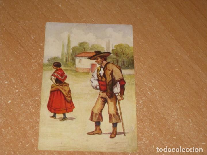 POSTAL DE ALDEANOS CACERES (Postales - España - Extremadura Antigua (hasta 1939))