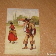 Postales: POSTAL DE ALDEANOS CACERES. Lote 277136603