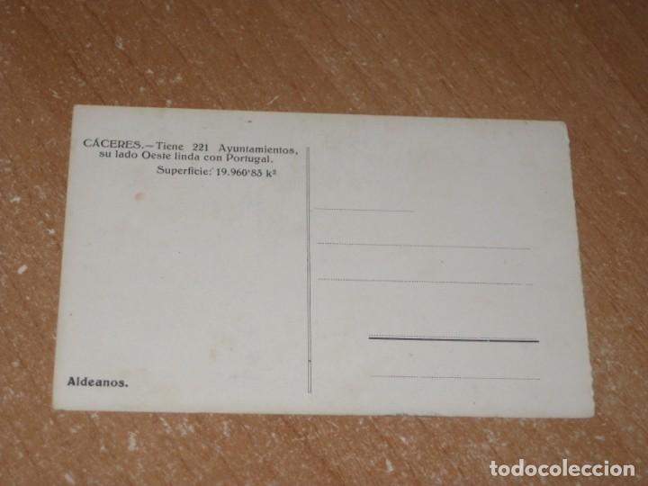 Postales: POSTAL DE ALDEANOS CACERES - Foto 2 - 277136603