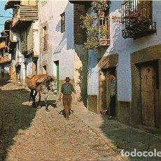 Postales: VILLANUEVA DE LA VERA - CALLE TÍPICA. Lote 278397593