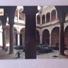 Postales: POSTAL 5 ESCUDO DE ORO. PALACIO DE S. CARLOS. TRUJILLO. CÁCERES. 1969. ESCRITA SIN CIRCULAR.. Lote 279454083