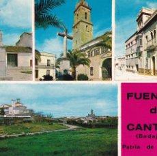 Cartes Postales: BADAJOZ, FUENTE DE CANTOS. ED. PATRONATO HOSPITAL DE LA SANGRE. AÑO 1969. Lote 285736343