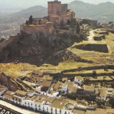 Cartes Postales: BADAJOZ, ALBURQUERQUE CASTILLO Y VISTA PARCIAL. ED. A. RIBIO, BEASCOA Nº 9301. Lote 285736658