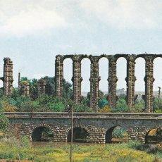 Cartes Postales: BADAJOZ, MERIDA PUENTE SOBRE EL ALBARREGAS Y ACUEDUCTO LOS MILAGROS. ED. GARRABELLA Nº 20. Lote 285737098