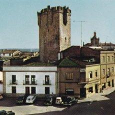 Cartes Postales: CACERES, CORIA PLAZA ALVAREZ DE CASTRO. ED. ARRIBAS Nº 2003. AÑO 1967. Lote 285737363