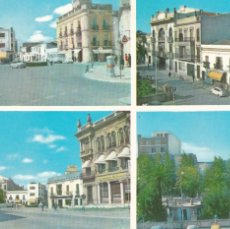 Cartes Postales: BADAJOZ, ALMENDRALEJO CENTRO CIUDAD. NO CONSTA EDITOR. AÑO 1964. Lote 285737838