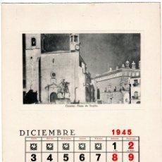 Cartoline: POSTAL CACERES - PLAZA DE TRUJILLO - EDICIONES DE LA VICESECRETARIA DE EDUCACION POPULAR. Lote 285817528
