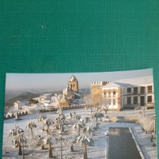 Cartoline: JEREZ CABALLEROS BADAJOZ EXTREMADURA PLAZA ALCAZABA SANTA MARIA DIA NEVADA. Lote 286957513
