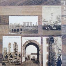 Postales: LOTE POSTALES MÉRIDA 4-6-7-10-12 HAUSER Y MENET. Lote 287076298