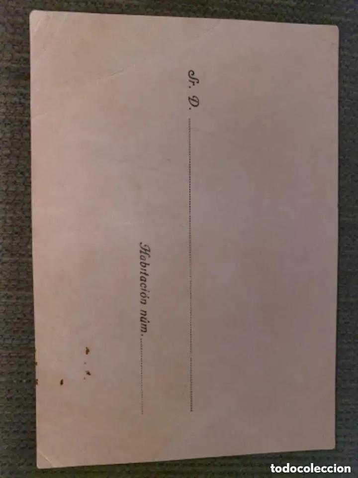 Postales: ANTIGUA Y RARÍSIMA POSTAL PUBLICITARIA HOTEL SIMANCAS BADAJOZ - Foto 2 - 287732238