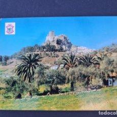 Postales: LOTE AB BADAJOZ.POSTAL ALBURQUERQUE BADAJOZ CASTILLO DE MEDIA LUNA. Lote 288377868