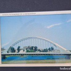 Cartoline: LOTE AB BADAJOZ.ARJETA POSTAL. MERIDA. PATRIMONIO DE LA HUMANIDAD. PUENTE LUSITANIA. Lote 288378283