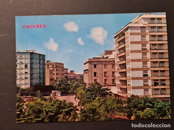 LOTE AB CACERES.POSTAL - CACERES AVENIDA HERNAN CORTES (Postales - España - Extremadura Moderna (desde 1940))