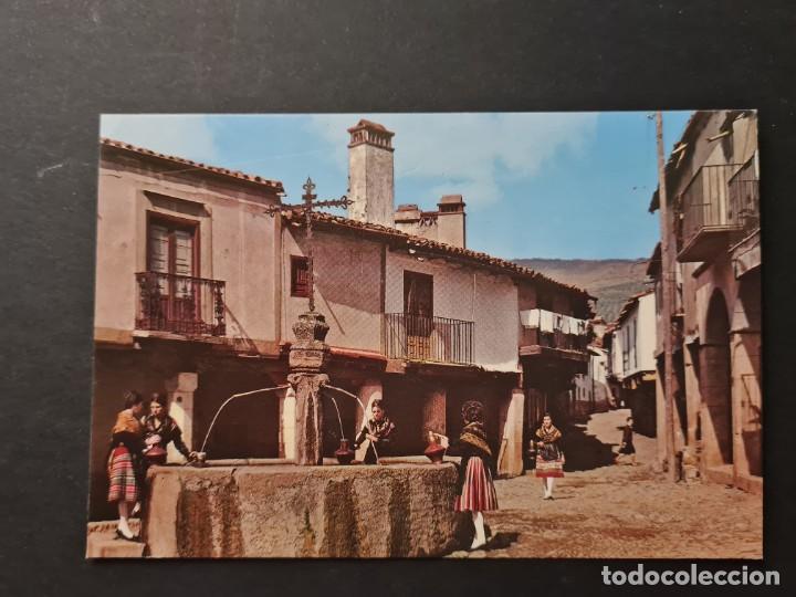 LOTE AB CACERES.POSTAL -GUADALUPE FUENTE DE LOS TRES CHORROS (Postales - España - Extremadura Moderna (desde 1940))