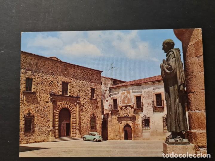 LOTE AB CACERES. POSTAL CACERES PALACIO EPISCOPAL (Postales - España - Extremadura Moderna (desde 1940))