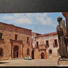 Postales: LOTE AB CACERES. POSTAL CACERES PALACIO EPISCOPAL. Lote 288448688