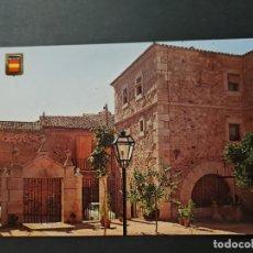 Postales: LOTE AB CACERES. POSTAL HOSTERIA DEL COMENDADOR. Lote 288450063