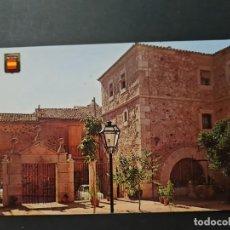 Postales: LOTE AB CACERES. POSTAL HOSTERIA DEL COMENDADOR. Lote 288450203