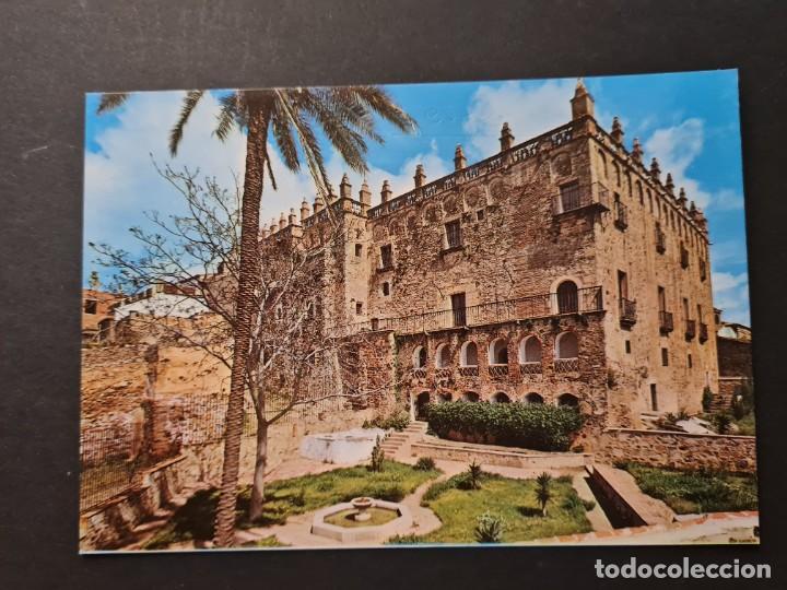 LOTE AB CACERES.POSTAL PALACIO DE LOS VELETAS ARRIBAS (Postales - España - Extremadura Moderna (desde 1940))