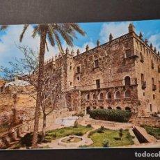 Postales: LOTE AB CACERES.POSTAL PALACIO DE LOS VELETAS ARRIBAS. Lote 288451488