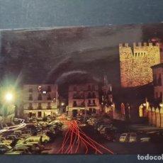 Postales: LOTE AB CACERES.POSTAL PLAZA GENERAL MOLA Y TORRE BUJACO. 536 PARIS.. Lote 288451943