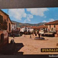 Cartoline: POSTAL GUADALUPE PLAZA DEL GENERALISIMO GARABELLA. Lote 288452853