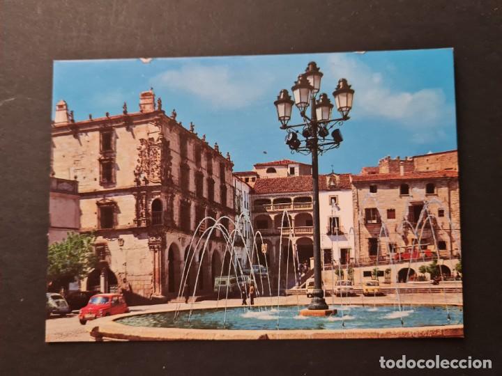 LOTE AB CACERES. POSTAL TRUJILLO PALACIO DEL MARQUES DE LA CONQUISTA (Postales - España - Extremadura Moderna (desde 1940))