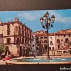 Postales: LOTE AB CACERES. POSTAL TRUJILLO PALACIO DEL MARQUES DE LA CONQUISTA. Lote 288453588