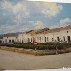 Postales: POSTAL PUEBLA DE LA REINA.-PL.GRAL.FRANCO CIRCULADA CM. Lote 288454868