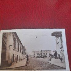 Postales: ANTIGUA POSTAL DE BADAJOZ, PLAZA DE MINAYO. Lote 288500818