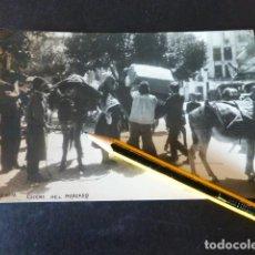 Postales: PLASENCIA CACERES ESCENA DEL MERCADO POSTAL FOTOGRAFICA J. DIEZ FOTOGRAFO. Lote 289308033
