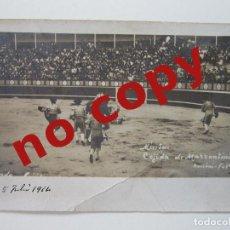 Postales: LOTE 9 POSTALES FOTOGRÁFICAS PLAZA DE TOROS MÉRIDA 1914 1915. Lote 289339043