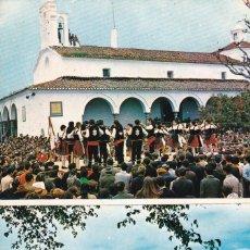 Postales: BADAJOZ, FREGENAL LOS JATEROS DE LA VIRGEN Y CIUDAD. ED. F.I.T.E.R. AÑO 1969. ESCRITA. Lote 289350068