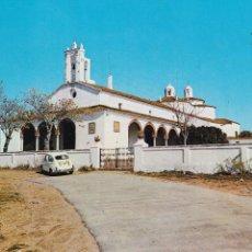 Postales: BADAJOZ, FREGENAL SANTUARIO NTRA. SRA. DE LOS REMEDIOS. ED. LIBRERIA SEVILLA. AÑO 1974. ESCRITA. Lote 289350583