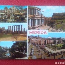 Postales: POSTAL POST CARD Nº 30 MÉRIDA BADAJOZ EXTREMADURA EDICIONES ARRIBAS DIVERSAS VISTAS VER FOTO SPAIN... Lote 293415688