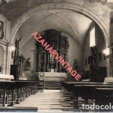 Postales: DESCARGAMARIA (CACERES) 3 IGLESIA RETABLO SIGLO XVI, ED, IGNACIO POLO, SIN CIRCULAR. Lote 293716458