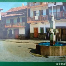 Postales: VALVERDE DE LA VERA, CACERES. FUENTE TIPICA - EDITA F.I.T.E.R. Lote 295019958