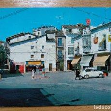 Postales: JARAIZ DE LA VERA CACERES.PLAZUELA DEL CAÑITO. SEAT 600... Lote 295033993