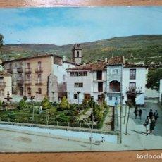 Postales: BAÑOS DE MONTEMAYOR (CÁCERES). JARDINES DE HERNÁN CORTÉS. Lote 295034263