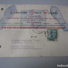 Postales: TARJETA PLASENCIA ( CACERES ). Lote 295489953