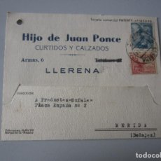 Postales: TARJETA POSTAL LLERENA ( BADAJOZ ). Lote 295490798