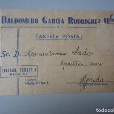 Postales: TARJETA POSTAL BADAJOZ. Lote 295491553