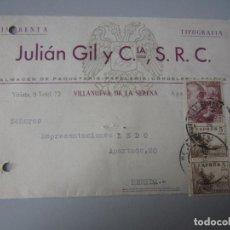 Postales: TARJETA VILLANUEVA DE LA SERENA ( BADAJOZ ). Lote 295493398