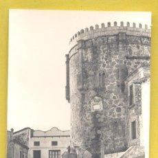 Postales: JARANDILLA (CACERES) PLAZA MAYOR. IGLESIA DE TEMPLARIOS Y FUENTE DE LA VILLA, CIRCULADA 1966. Lote 296780628