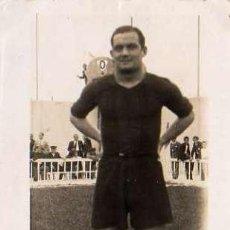 Coleccionismo deportivo: POSTAL VENTOLRA JUGADOR F.C BARCELONA PARTIDO ALICANTE 19-4-1936. Lote 4478792