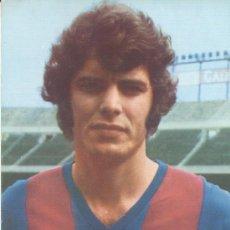 Coleccionismo deportivo: POSTAL PUBLICITARIA WILLIAMS JOSE ANTONIO BARRIOS OLIVERO.DELANTERO BARÇA. Lote 13659849