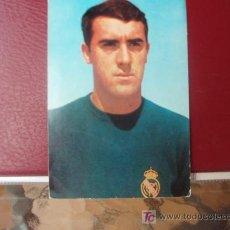 Coleccionismo deportivo: ANTIGUA POSTAL DEL JUGADOR DEL R.MADRID JUNQUERA. Lote 26156114