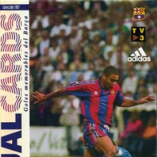 Coleccionismo deportivo: VIRTUAL CARDS (POSTALES CON MOVIMIENTO) - GOLES MEMORABLES DEL BARÇA (16 POSTALES CON ESTUCHE). Lote 25664532
