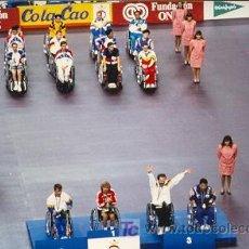 Coleccionismo deportivo: JUEGOS PARALIMPICO DE BARCELONA 1992, ES UNA FOTOGRAFIA. Lote 7285262
