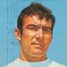 Coleccionismo deportivo: POSTAL DEL JUGADOR DE FUTBOL DEL REAL MADRID CALPE. Lote 12678686